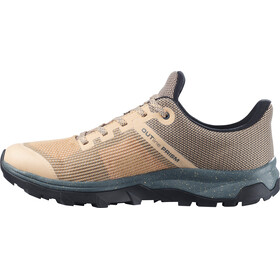 Salomon OUTline PRISM GTX Shoes Women, almond cream/stormy weather/black